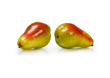 Two juicy pears Royalty Free Stock Images