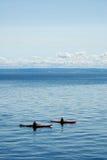 Two Kayaks Royalty Free Stock Photos