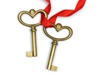 Two keys Stock Photography