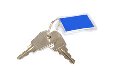 Two keys Royalty Free Stock Image