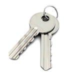Two keys Stock Image