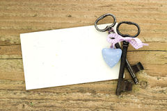 Two keys Royalty Free Stock Photography