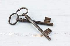 Two keys Royalty Free Stock Images