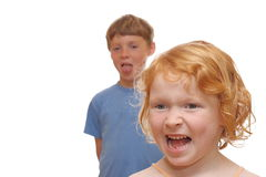 Two kids Stock Photography