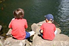 Two kids Royalty Free Stock Photo