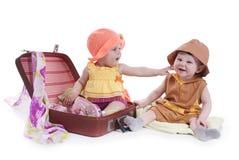 Two kids Stock Photos