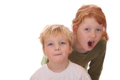Two kids Royalty Free Stock Photography