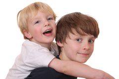 Two kids Stock Photo