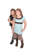 Two kids together Stock Image