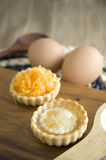 Two kinds of mini tarts Royalty Free Stock Photos