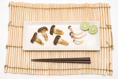 Free Two Kinds Of Broiled Mushroom Royalty Free Stock Photo - 16868825