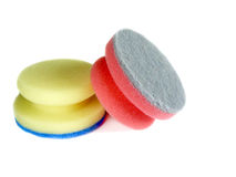 Two kitchen sponge Stock Images