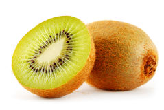 Two kiwis Stock Photo