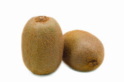 Two Kiwis isolated Stock Images