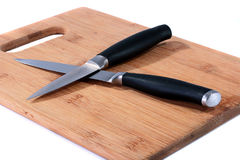 Two knifes Stock Photo