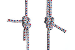 Two knots Stock Photography