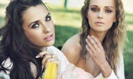 Two ladies Royalty Free Stock Image