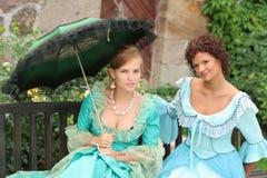 Two ladies Stock Photos