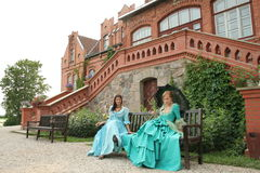 Two ladies Royalty Free Stock Photo