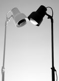 Two lamps Royalty Free Stock Images