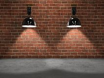 Lamps stage Royalty Free Stock Photos