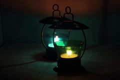 Two lanterns Stock Image