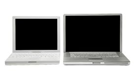 Two laptops Stock Photo