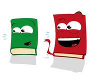 Two Laughing Books Stock Photos