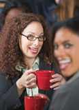 Two Laughing Women Stock Image