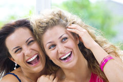 Two laughs Royalty Free Stock Photos