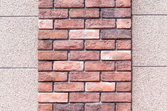 Two layer of small and big brick wall texture. Two layer of small and big brick wall texture, use as background Royalty Free Stock Photo