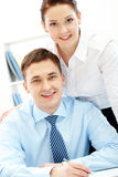 Two leaders Royalty Free Stock Photos