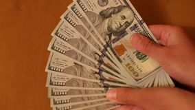 Two leading hard currencies - US Dollar and Euro stock footage