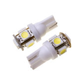 Two led lamp for auto with 5 SMD LEDs Royalty Free Stock Photo
