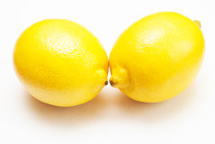 Two lemon Stock Photography