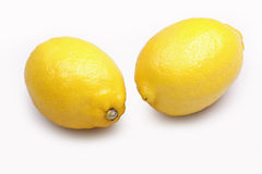 Two lemons Stock Photography