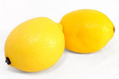 Two lemons Royalty Free Stock Photos