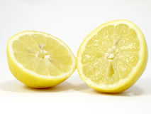 Two Lemons Royalty Free Stock Photography