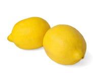 Two lemons Stock Photos