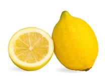 Two lemons Royalty Free Stock Photo