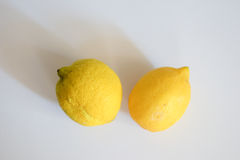 Two lemons Royalty Free Stock Images