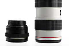 Two lenses Royalty Free Stock Image