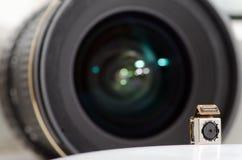 Two lenses Stock Photo