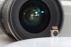 Two lenses Stock Image