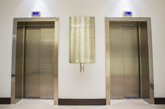 Two lifts Stock Photography