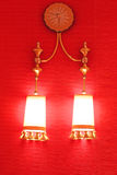 Two lights Stock Photography