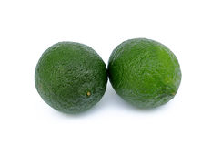 Two limes Stock Images
