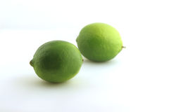 Two limes Stock Photos
