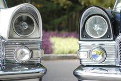 Two limousines Stock Photos