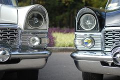 Two limousines Royalty Free Stock Images